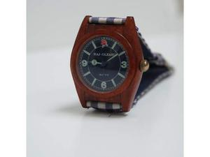 Orologio NAJ OLEARI vintage cassa in legno 35 mm