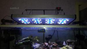 Plafoniera Led Acquario 150 Cm : Plafoniera a sospensione 1 x 150 watt e led blu posot class