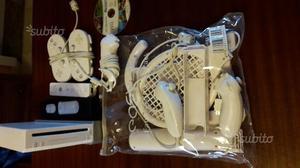 Wii usata con giochi e accessori
