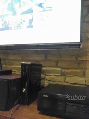 Xbox 360 slim 250gb giochi e accessori