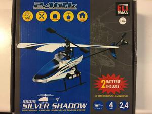 Elipama  Elicottero Radiocomandato Silver Shadow 2.4
