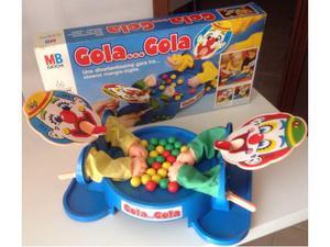 """Gioco da tavolo anni 80 """"gola...gola"""" mb giochi"""