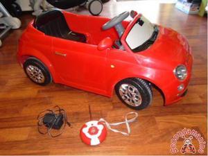 Macchina elettrica Fiat 500 radiocomandata