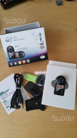 Mini telecamera wi fi q 7