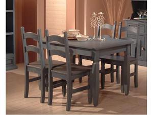 Offerta tavolo + 4 sedie in legno massello naturale