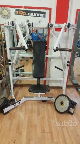 Panca pettorali Hammer Strength