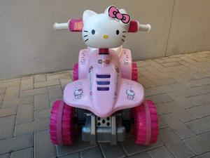 Pinky quad hello kitty, moto elettrica