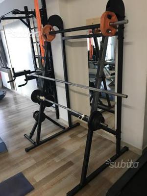 Rack per squat e panca