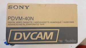 Scatola cassette DVCAM PDVM40N