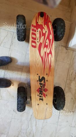 Skateboard elettrico off road 800W