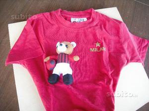 T-shirt milan bimbo pupazzi milan