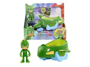 Veicolo giocattolo Pj Masks Super Pigiamini Gecomobile con