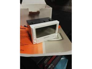 Cronotermostato ambiente da incasso pellicano posot class for Termostato bticino living istruzioni