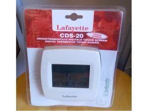 Cronotermostato digitale lafayette 091 posot class for Lafayette cds 30