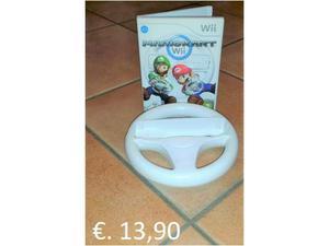 Gioco Nintendo Wii e accessori: Mario Kart + Volante