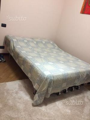 Struttura letto e materasso 1 piazza e mezzo ikea posot - Rete a doghe ikea ...
