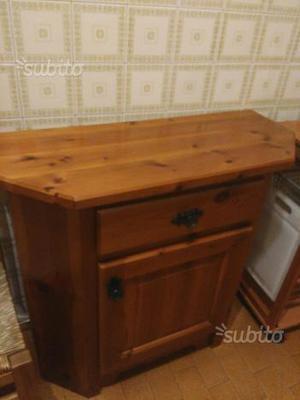 Mobile da cucina in legno