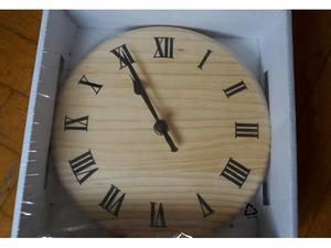 Orologio a muro in legno di faggio Ikea, nuovo