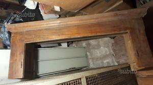 Parte alta vecchio armadio piemontese dell 800