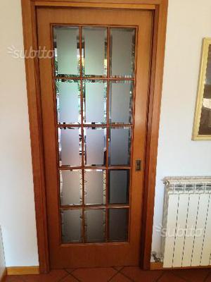 Porte interne tamburate e in vetro varie misure