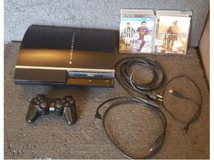 Sony playstation 3 console cechc04 con 2 giochi