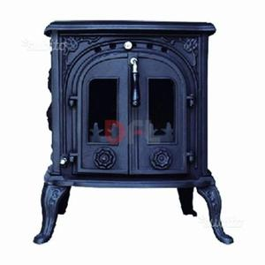 Stufa a legna in ghisa parlor stove posot class for Stufa a legna parlor