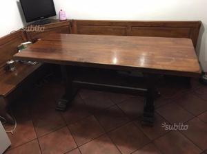 Tavolo in massello di castagno