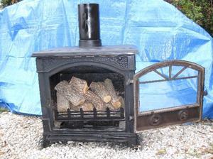 Termostufa a legna 22kw ad euro mese a tasso posot class for Termostufa a legna usata