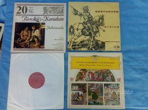 4 LP musica classica