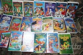 Cassette originali Disney