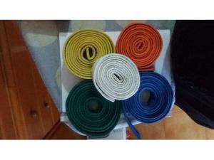 Cinture per arti marziali vari colori