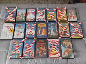 Classici Disney VHS (Originali)