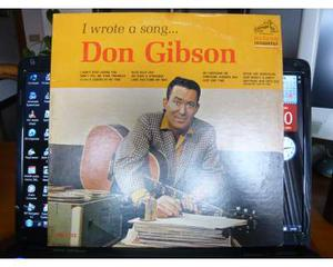Don gibson - i wrote a song...