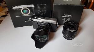 Fotocamera Fuji x-E2 con  e )