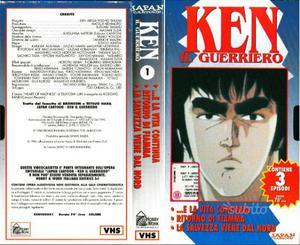 """""""Ken il guerriero"""" prima serie completa in VHS"""