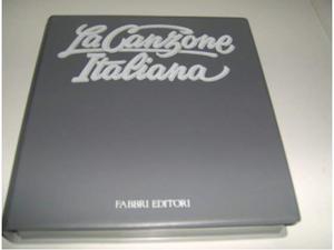 La canzone italiana Fabbri editori cassette audio