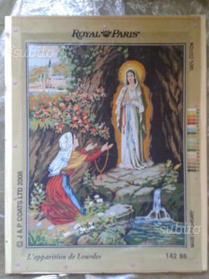 Mezzopunto Apparizione Madonna di Lourdes