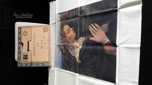 Riproduzione su tela Madonna del Lippi
