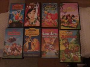 VHS Originali della Disney