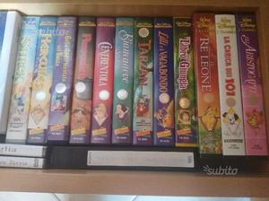 Video cassette Walt Disney originali