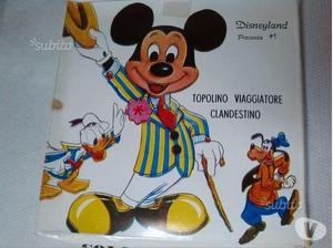 Walt diney. film sonoro a colori super 8. topolino