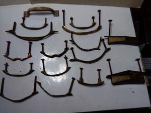 16 vecchie maniglie per mobili antichi epoca prima metà del
