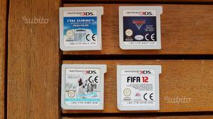 4 giochi originali per nintendo 3ds xl e 2ds