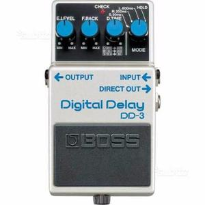 Boss dd3 digital delay - pedale singolo