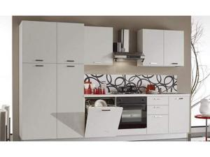 Cucina lineare 3 metri larice bianca | Posot Class