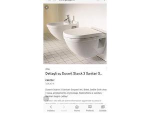 Duravit vaso wc duravit starck 3 sospeso350 €