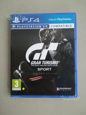 Gran Turismo GT Sport PS4