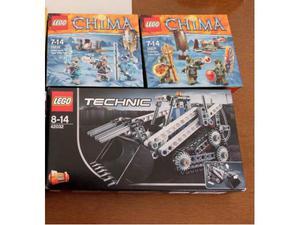 Lego CHIMA, TECHNIC Nuovi