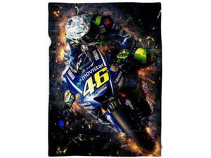 Maxi plaid coperta 100x180 Valentino Rossi 46 MOTO GP