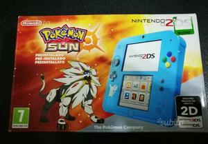 Nintendo 2DS + Pokémon sun